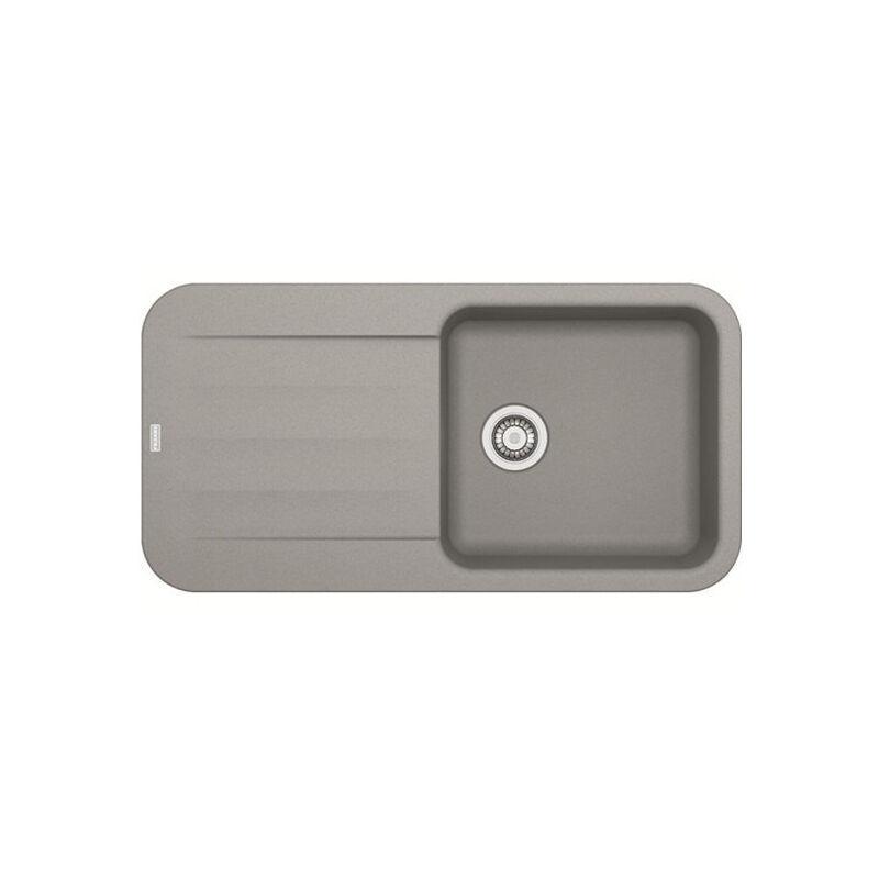 FRANKE Evier PEBEL FRAGANIT PEG611-97 Stone (sous meuble 60mm) 970x500x200mm