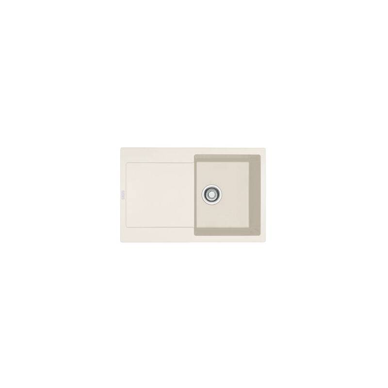 FRANKE Evier MARIS FRAGANIT MRG611-78 Vanilla (sous meuble 45cm) 780x500x205mm