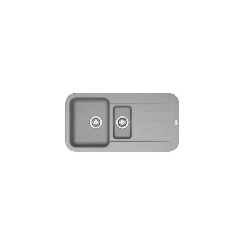 Franke - Evier PEBEL FRAGANIT PEG651 Stone (sous meuble 60mm) 970x500x200mm