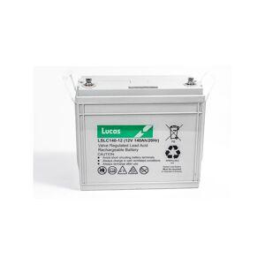 LUCAS Batterie Plomb étanche Stationnaire et Cyclage VRLA AGM LSLC140-12 12V 140Ah - Publicité