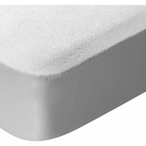 PIKOLIN HOME Protège-matelas en tissu éponge anti-acariens et imperméable. 180x200cm , Blanc - Publicité