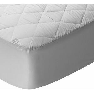 PIKOLIN HOME Protège-matelas matelassé en fibre et anti-acariens. 180x200cm , Blanc . Lit de - Publicité