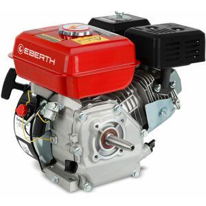 EBERTH 5,5 CV 4,1 kW moteur à essence (19mm Ø arbre conique, indicateur de niveau - Publicité