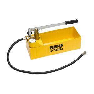 Rems 115000 Push - Pompe d'épreuve - 60 bar - Publicité