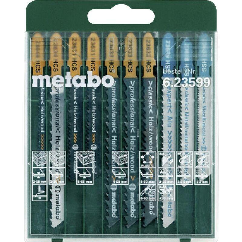 METABO Lame de scie sauteuse Metabo 623599000 10 pc(s)