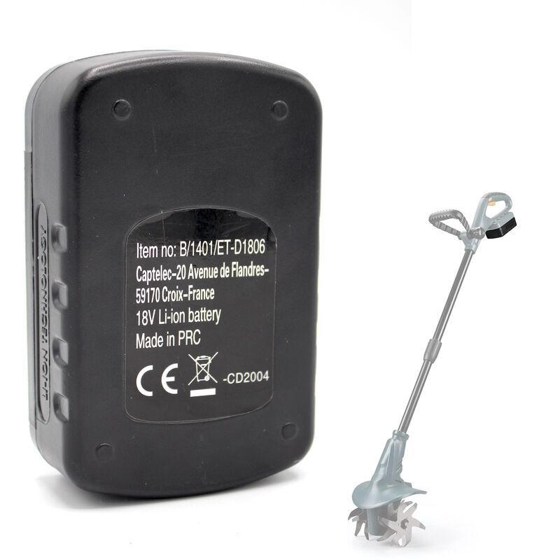 Batterie de Rechange Motobineuse Electrique – 18V – FISHTEC