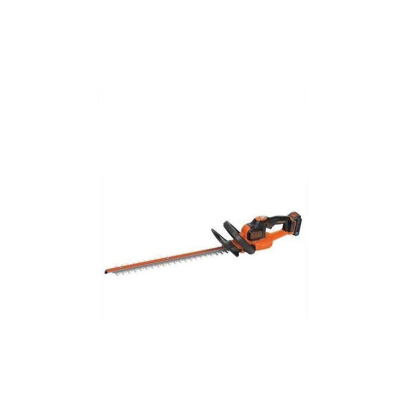BLACK & DECKER Black and Decker - Taille-haies à batterie 18 V 2Ah Li-Ion 50cm - BDHT185ST1