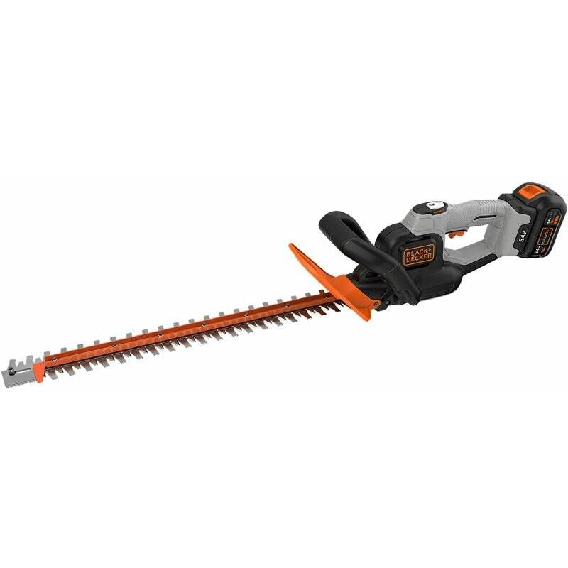 BLACK & DECKER Black&decker; - Taille-haies sans fil - 60 cm - 54 V - 2 Ah - Ecartement : 19 mm