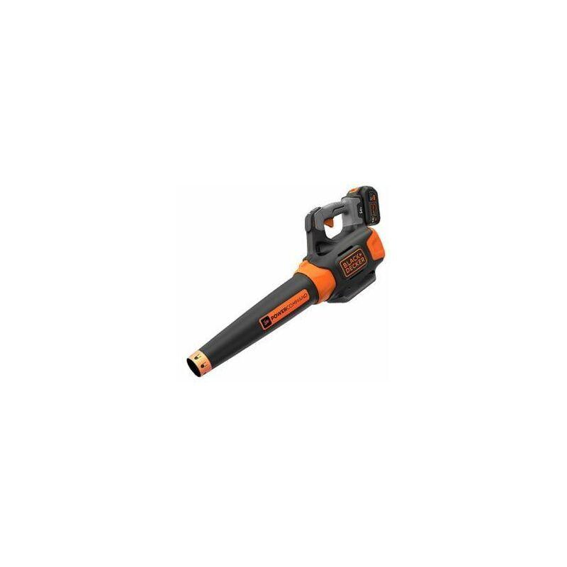 Black & Decker Souffleur 54V Dualvolt, incl. Batterie Lithium-ion 54V, 1.5Ah