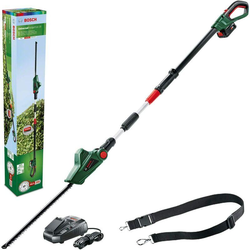 BOSCH Taille-haies télescopique sans fil Bosch - UniversalHedgePole 18 (1 batterie