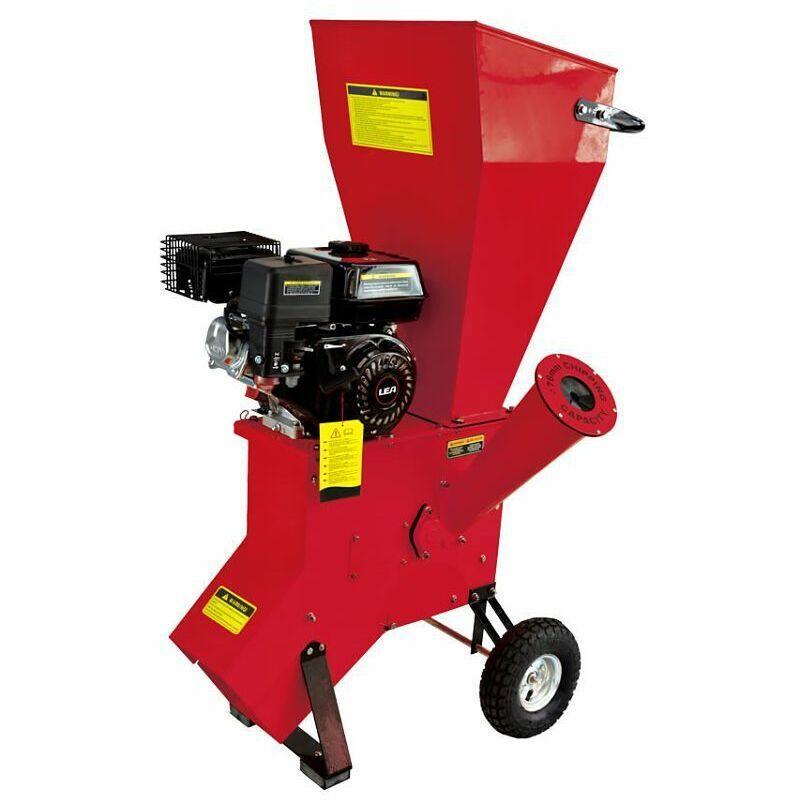 LEA – Broyeur de jardin pour végétaux diamètre max 76mm moteur thermique 212cc 5,6 cv LE56212