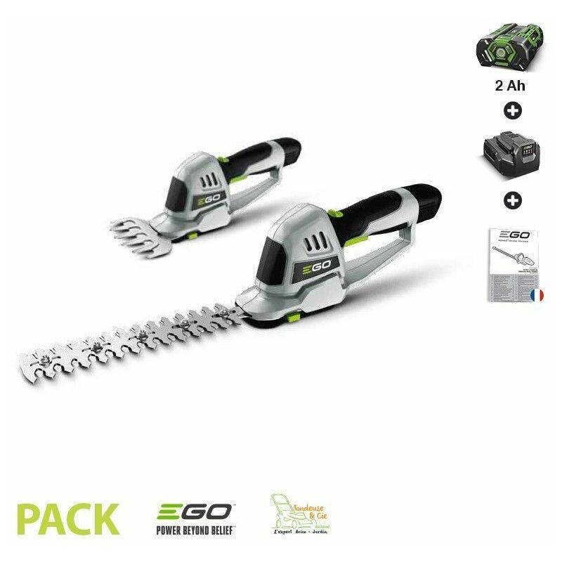 Taille herbe et haie lame 200 mm Egopower pack batterie et chargeur 2 Ah EGO POWER CHT2001E – EGO POWER+
