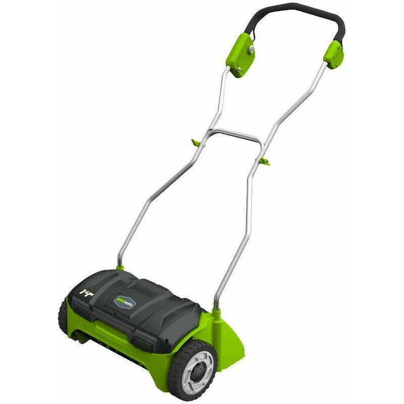 GREENWORKS Scarificateur Électrique À Fil Greenworks 32 Cm De Largeur De Coupe, 1100w