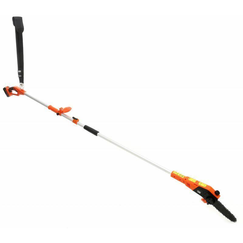 Hucoco - DCRAFT - Élagueuse sur perche réglable 230 cm à 300 cm - Guide 200 mm