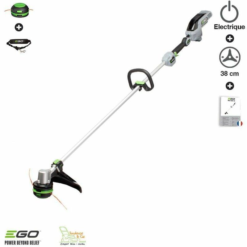Ego Power+ – Debroussailleuse sur batterie à recharge de fil automatique Powerload Egopower largeur coupe 38 cm ST1510E sans chargeur ni batt