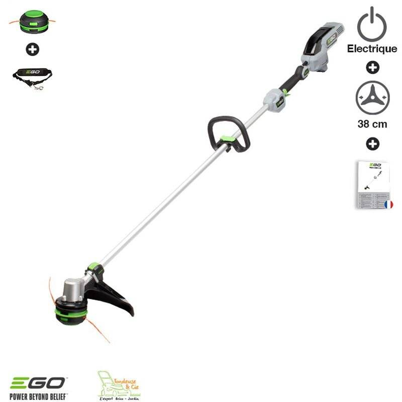 Ego Power+ - Debroussailleuse sur batterie à recharge de fil automatique