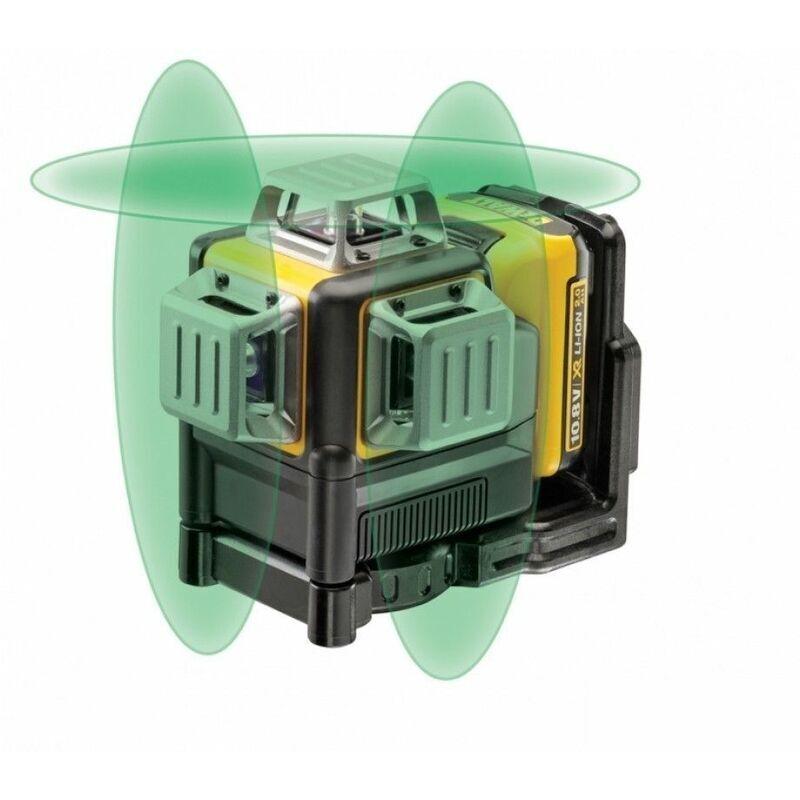 DeWALT DCE089D1GTRI - Set niveau laser Li-Ion 10.8V (1x batterie 2,0Ah) dans