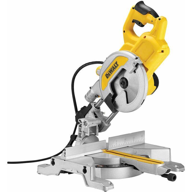 Dewalt - Scie a Onglets Radiale - 1800 W - 6300 t/min - 216 mm - Systeme XPS