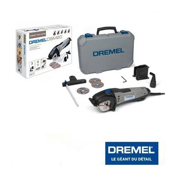 DREMEL scie circulaire 710W Dremel DSM 20 en coffret