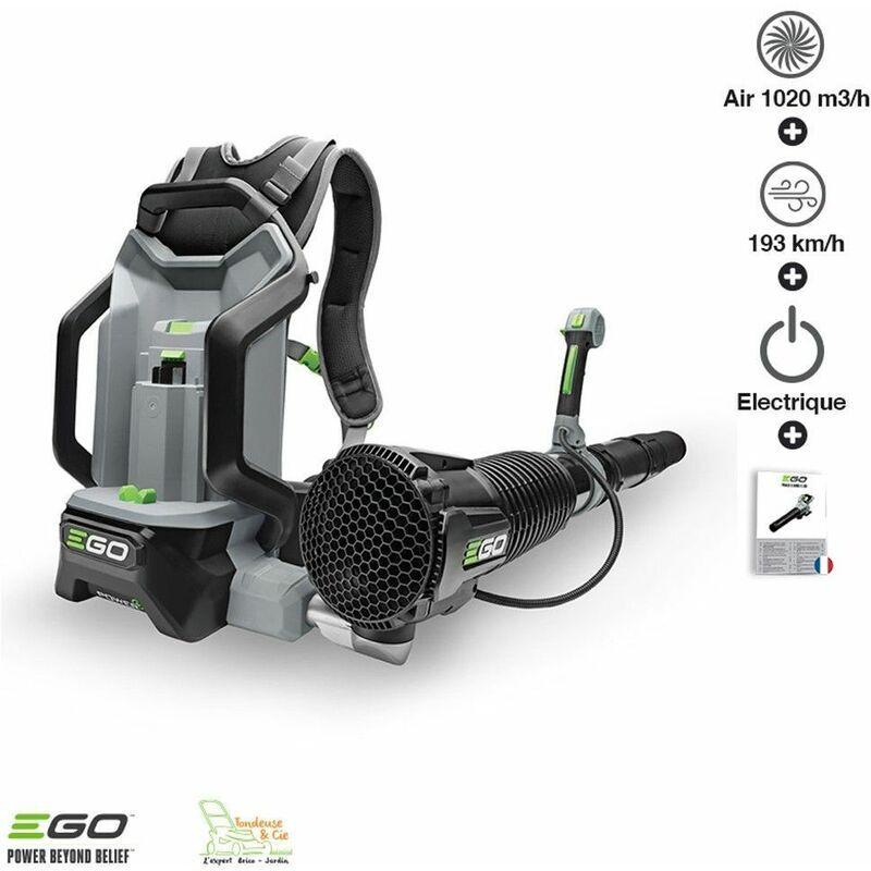 Souffleur professionnel à batterie dorsale Ego Power+ LB6000E