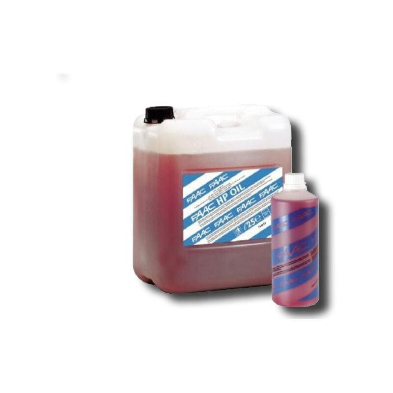 faac huile hydraulique 25l 714018
