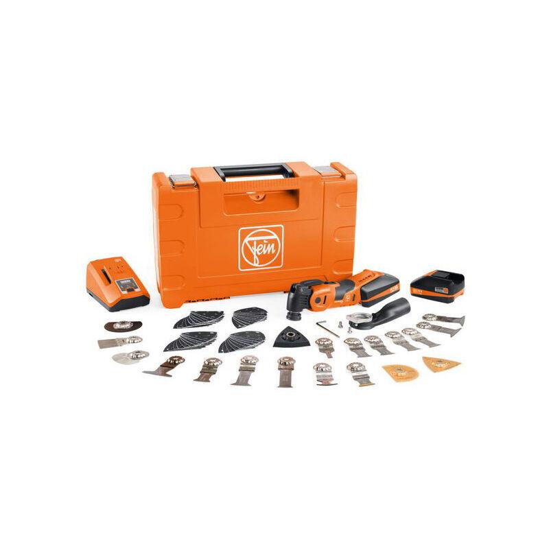 Fein Machine oscillante MULTIMASTER sans fil AMM 700 Max Top, 2 batteries