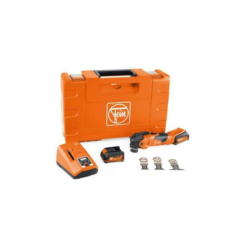 Fein Machine oscillante MULTIMASTER sans fil AMM 300 Plus Start, 2x batteries