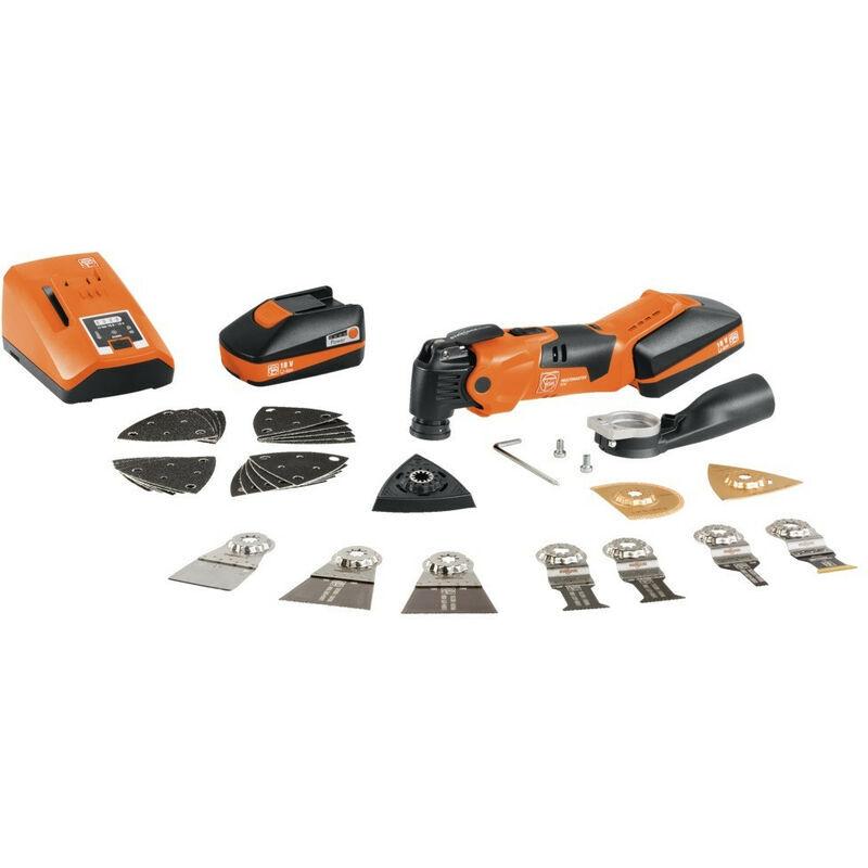 FEIN Multimaster sans fil AMM 500 Plus Top sans fil avec 2 batteries (18 V/3
