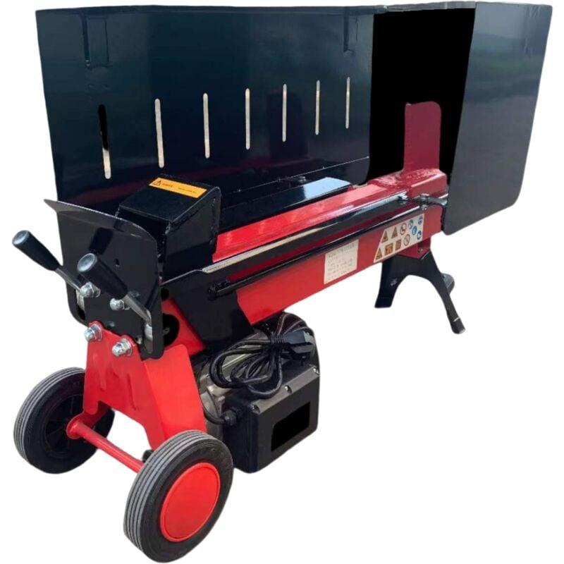 Varan Motors – NEELS-04 Fendeuse / Fendeur de bûches électrique 2900W 230V, Pression 7 T, Buche jusqu'à 52cm