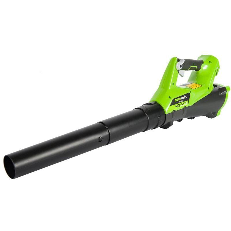 Souffleur Axial Sans Fil Greenworks 40v (sans Batterie Ni Chargeur)