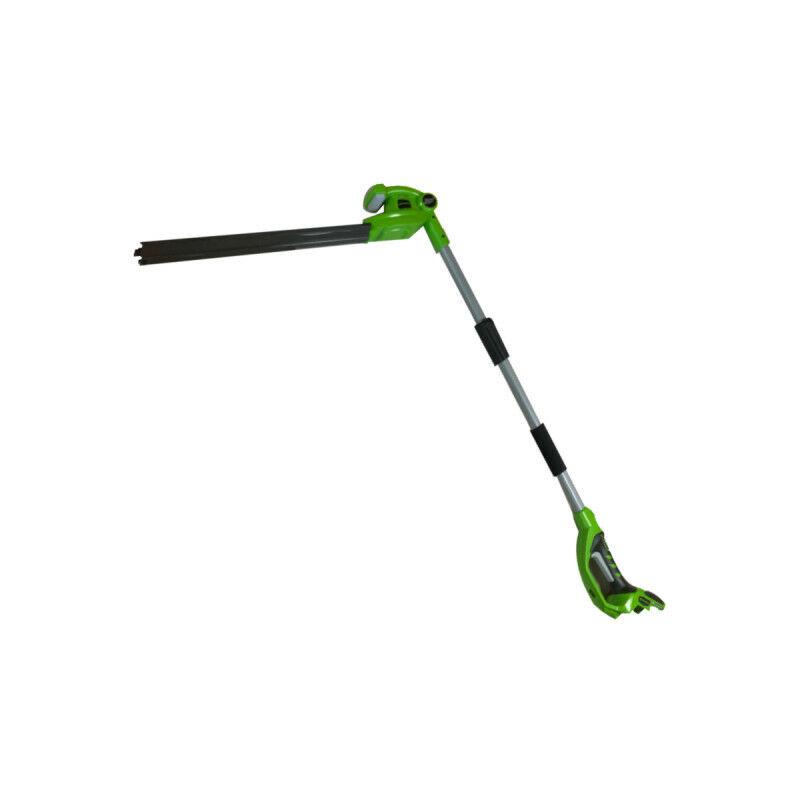 Taille-haies télescopique 51 cm GREENWORKS 24V – Sans batterie ni chargeur – G24PH51