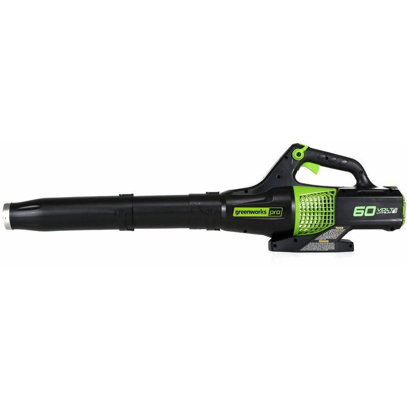 Souffleur Axial Sans Fil Greenworks 60v (sans Batterie Ni Chargeur)