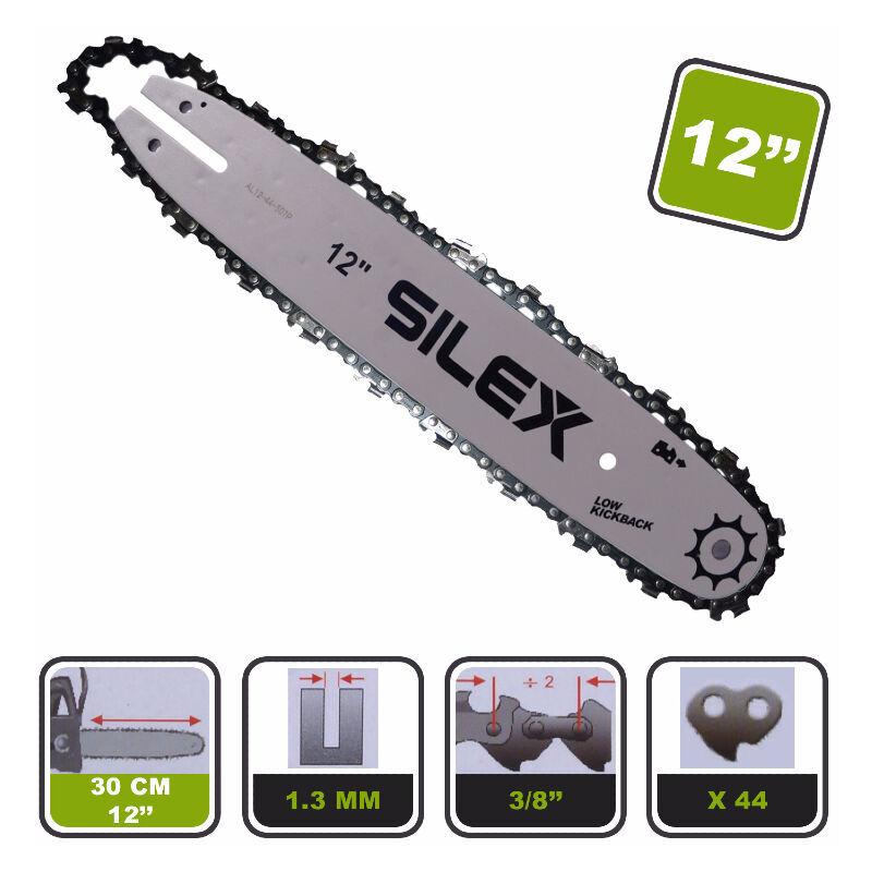 SILEX Guide + chaîne 12-30 ® pour élagueuse sur perche - Silex