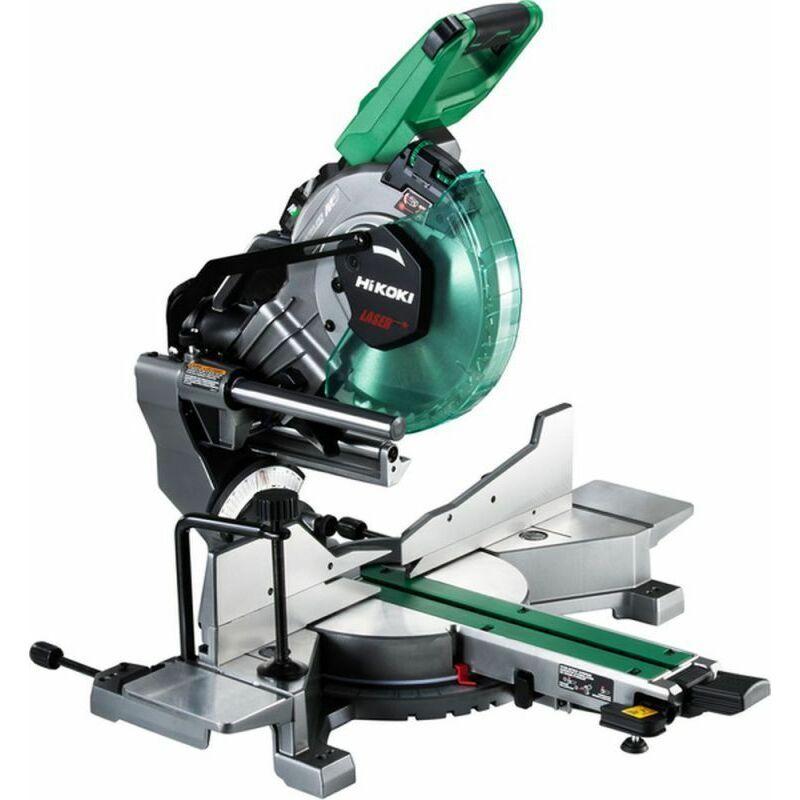 Hikoki C3610DRAW4Z Scie radiale à coupe d'onglet Ø 255 mm - Faisceau laser