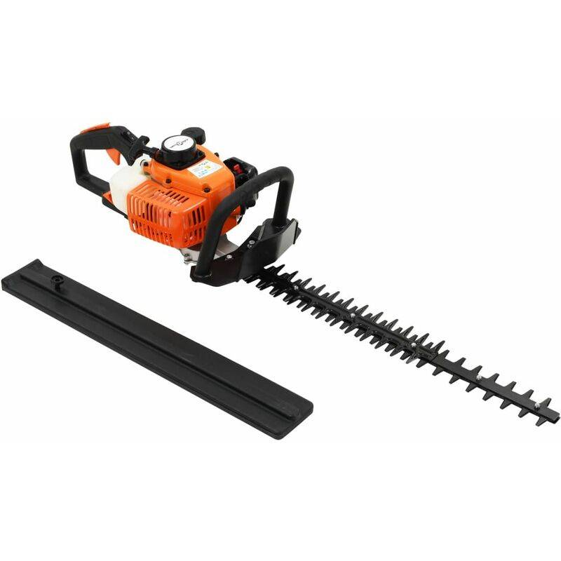 Taille-haie à essence 722 mm Orange et noir HDV05870 – Hommoo