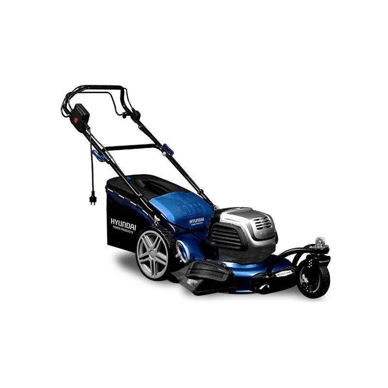 HYUNDAI Tondeuse électrique HTDE511RP – 3 roues 51cm 1800W Moteur induction