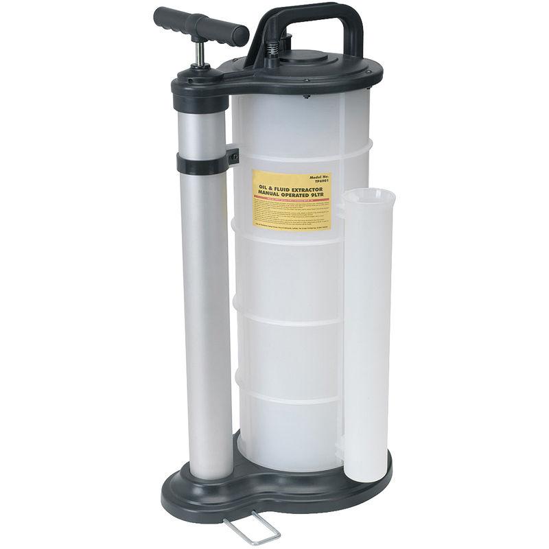 Pompe à vide d'extraction d'huile en Plastique, 9L – Rs Pro