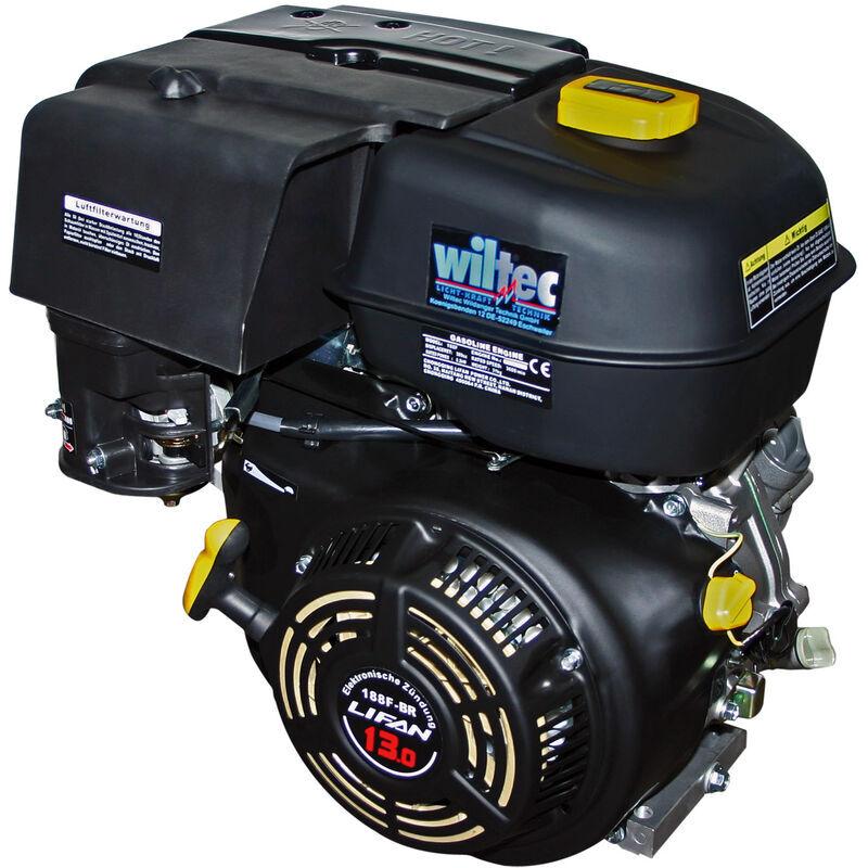 LIFAN 188 Moteur essence 9.5kW (13CV) 25.4mm 390ccm avec Démarreur manuel pour Moteur Kart