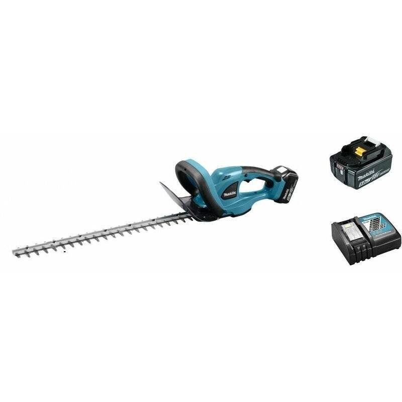 Makita DUH523RT Taille-haie à batteries 18V Li-Ion (1x batterie 5,0Ah) - 520mm