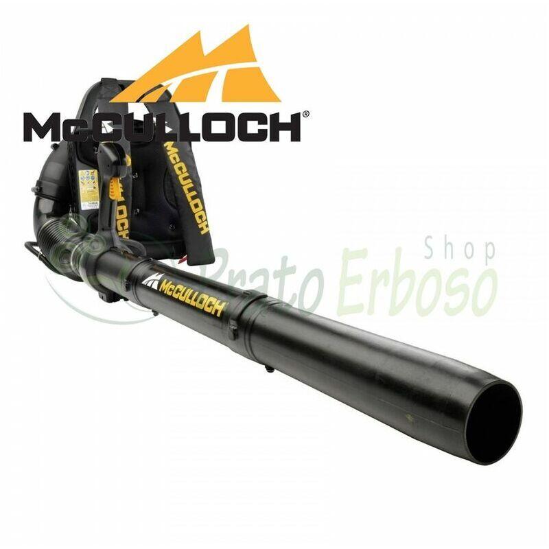 Souffleur à dos thermique – vitesse de l'air 98,34 m/s – GB 355BP – MCCULLOCH