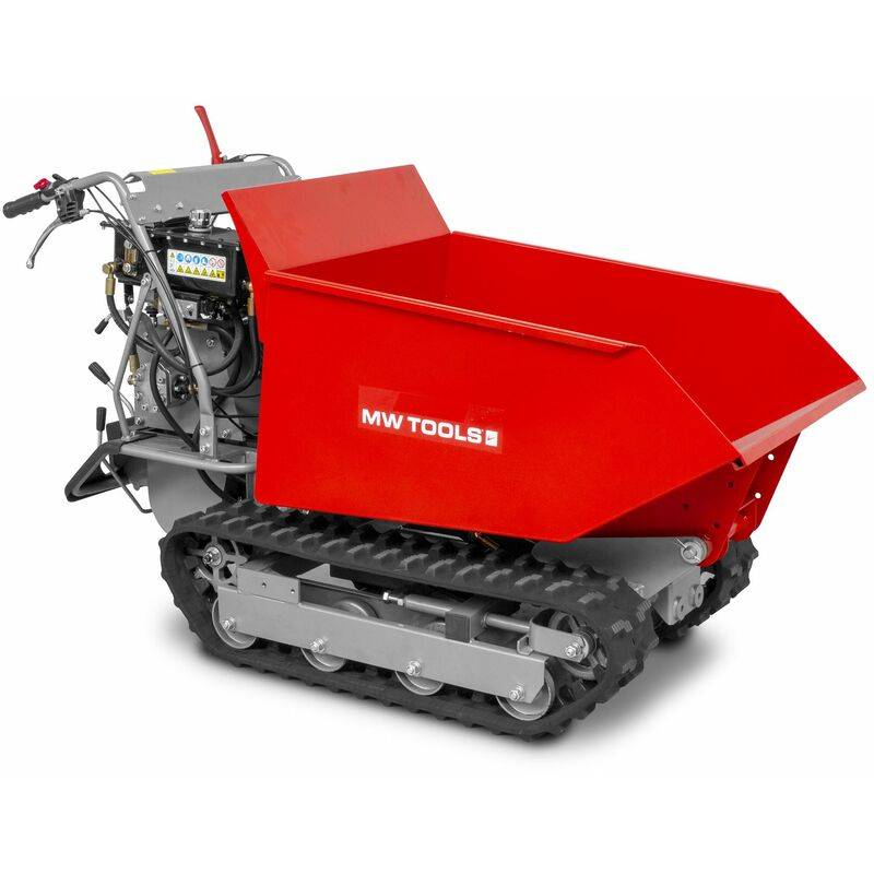 Mini dumper à chenilles 500kg 6F+2R MW-Tools MRD500H6
