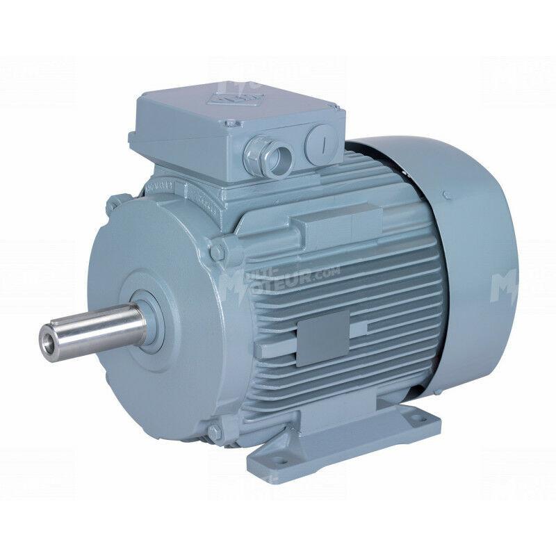 VEM Moteur electrique 0,12 kW 1500 tr/min 230/400V triphasé VEM K21R carcasse fonte