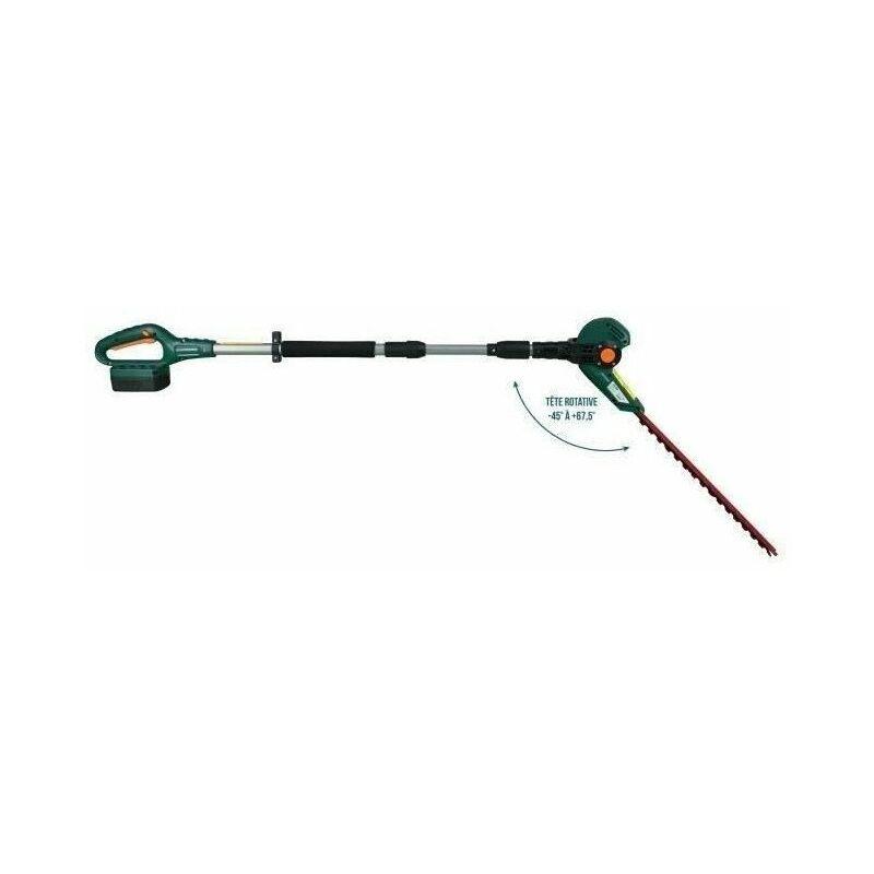 MYTEK Taille haie sur perche 50cm Sans fil 6 positions de coupe – 18 V – Avec batterie