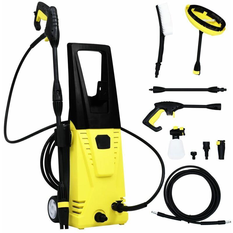 Nettoyeur à pression avec accessoires Nettoyeur haute pression électrique 135 bars 1700 W 5 m – YOUTHUP