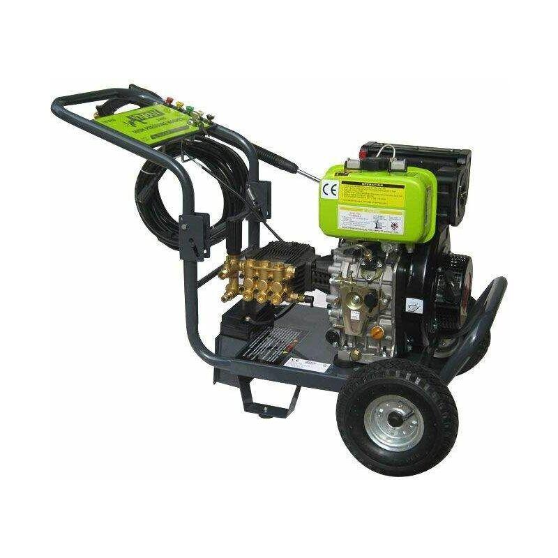 Varan Motors – 93002 Nettoyeur Haute Pression Diesel 3000PSI 205BAR +Démarrage Electrique