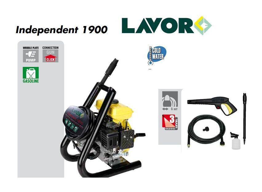 Lavor - Nettoyeur haute pression thermique 130 Bars 520L/h - Independent 1900