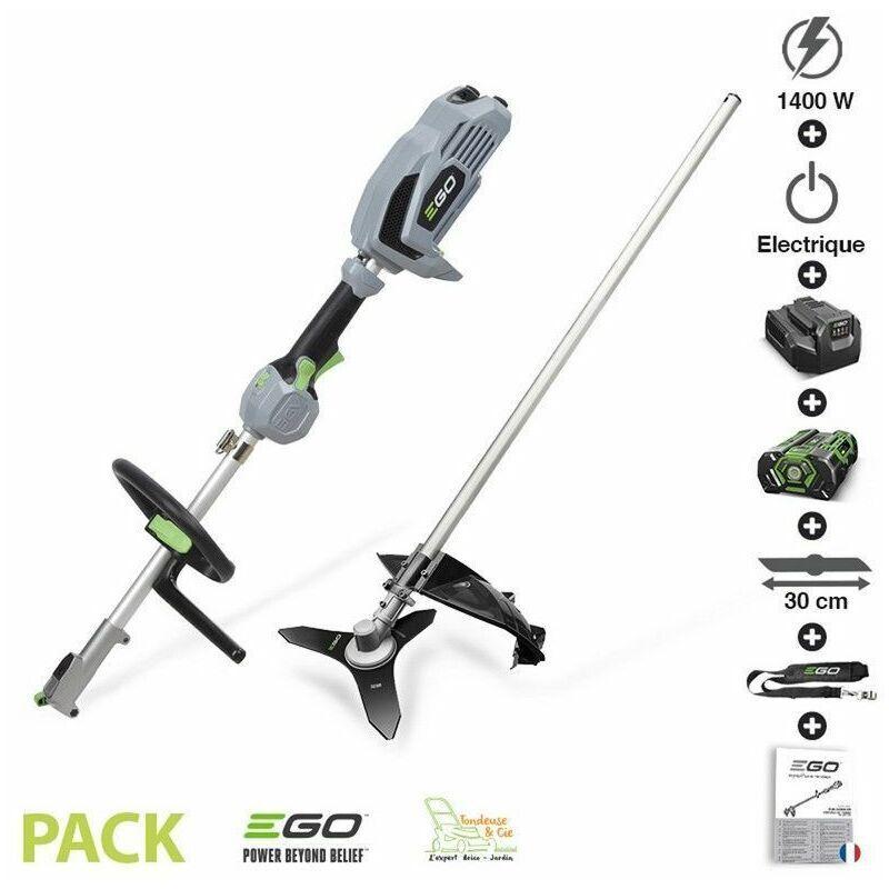 Ego Power+ - Pack débroussailleuse sans fil avec chargeur et batterie 56 volts