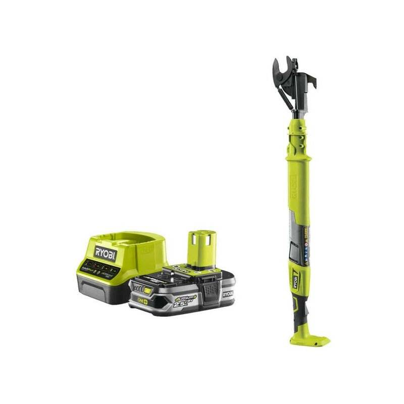 RYOBI Pack RYOBI Coupe-branches 18V OnePlus OLP1832BX - 1 Batterie 2.5Ah - 1 Chargeur