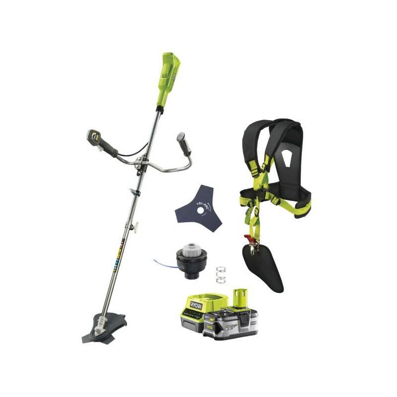 RYOBI Pack RYOBI débroussailleuse 18V OnePlus OBC1820B - 1 batterie 4.0Ah - 1