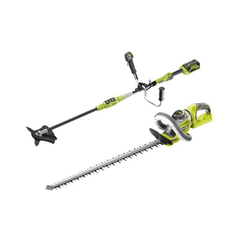 Pack RYOBI taille-haies 36V RHT36B60R – débroussailleuse 36V Lithium-ion – 1 batterie 4.0Ah – 1 chargeur RBC36X26B